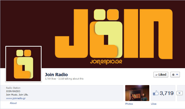 Join Radio facebook