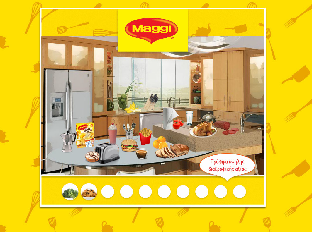 Maggi Hidden Game